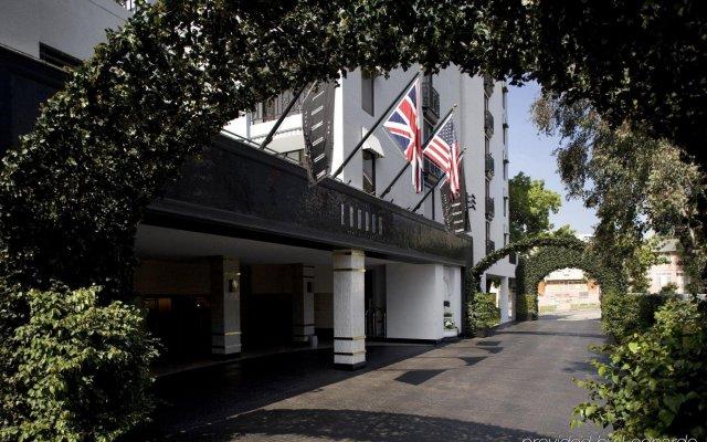 Отель London West Hollywood at Beverly Hills вид на фасад