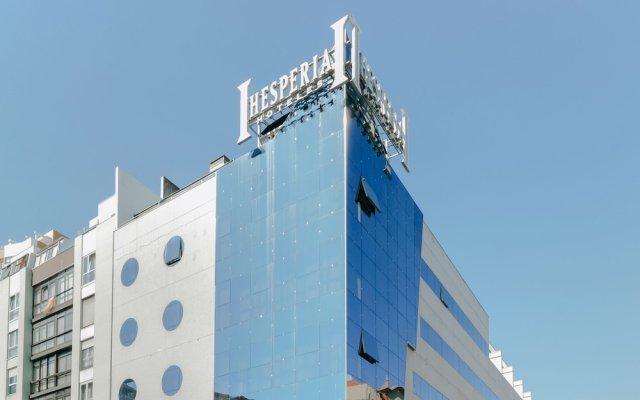 Отель Hesperia A Coruña Centro Испания, Ла-Корунья - отзывы, цены и фото номеров - забронировать отель Hesperia A Coruña Centro онлайн вид на фасад