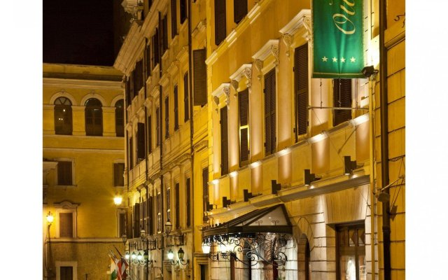 Отель Albergo Ottocento Италия, Рим - 1 отзыв об отеле, цены и фото номеров - забронировать отель Albergo Ottocento онлайн вид на фасад