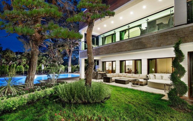 Отель Nirvana Lagoon Villas Suites & Spa вид на фасад
