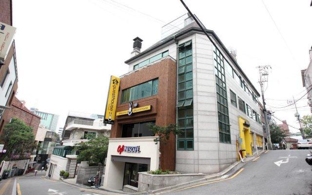 Отель 24 Guesthouse Namsan Южная Корея, Сеул - отзывы, цены и фото номеров - забронировать отель 24 Guesthouse Namsan онлайн вид на фасад
