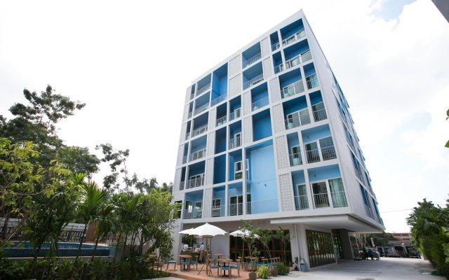 Отель Deeprom Pattaya Паттайя вид на фасад
