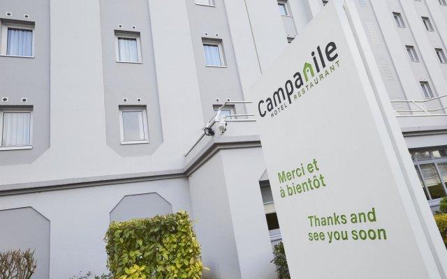Отель Campanile Nice Aeroport Ницца вид на фасад