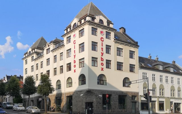 Отель Citybox Bergen As Берген вид на фасад