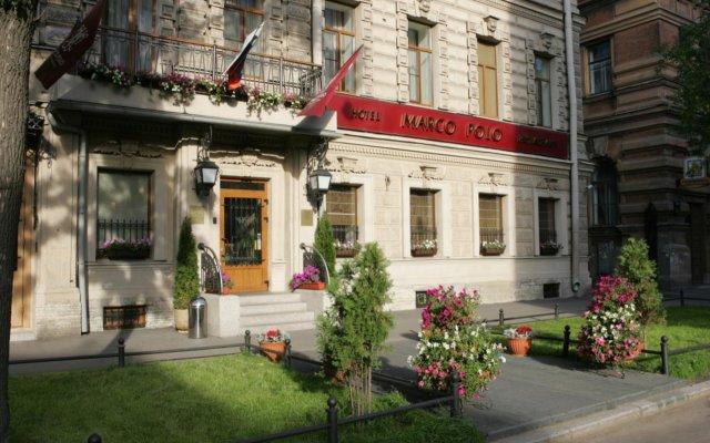 Гостиница Марко Поло Санкт-Петербург в Санкт-Петербурге - забронировать гостиницу Марко Поло Санкт-Петербург, цены и фото номеров вид на фасад
