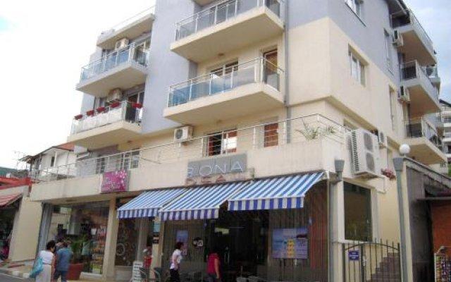 Bona Dea Club Hotel Свети Влас вид на фасад