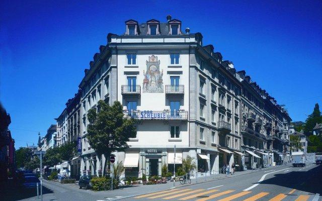 Отель Scheuble Hotel Швейцария, Цюрих - отзывы, цены и фото номеров - забронировать отель Scheuble Hotel онлайн вид на фасад