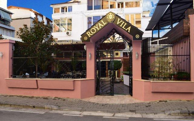 Royal Vila Hotel вид на фасад