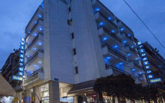 Отель Epidavros Hotel Греция, Афины - 7 отзывов об отеле, цены и фото номеров - забронировать отель Epidavros Hotel онлайн вид на фасад