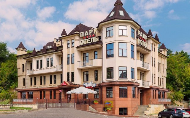 Гостиница Парк вид на фасад