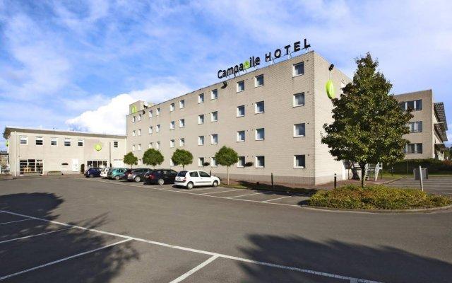 Campanile Hotel Brussel / Bruxelles - Vilvoorde парковка