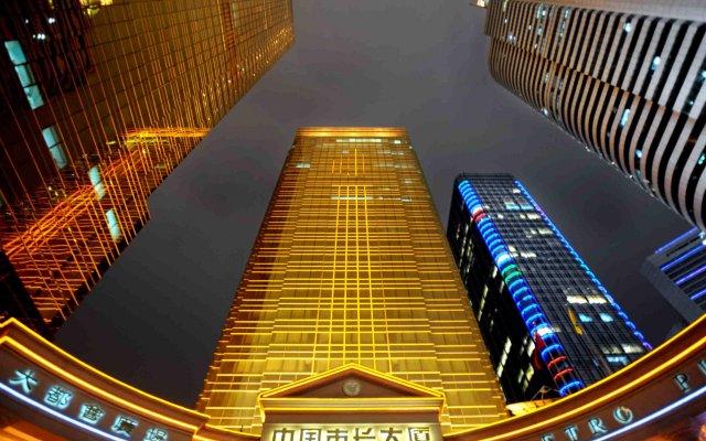 Отель China Mayors Plaza вид на фасад