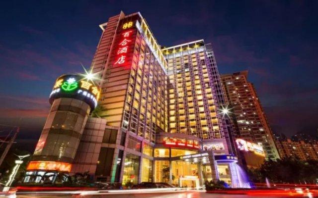 Отель Shenzhen Century Kingdom Hotel, East Railway Station Китай, Шэньчжэнь - отзывы, цены и фото номеров - забронировать отель Shenzhen Century Kingdom Hotel, East Railway Station онлайн вид на фасад