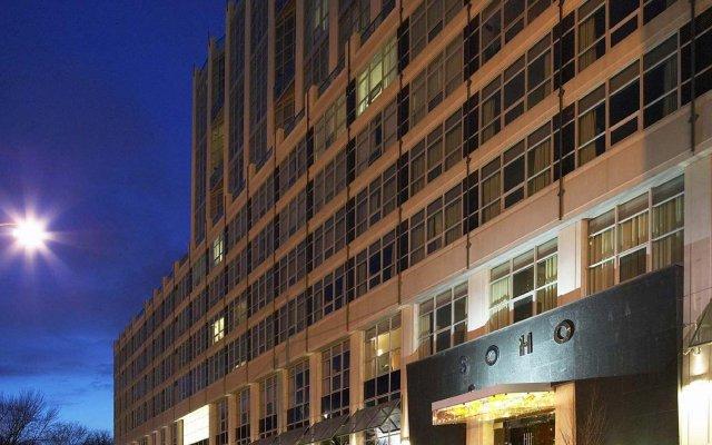 Отель SoHo Metropolitan Hotel Канада, Торонто - отзывы, цены и фото номеров - забронировать отель SoHo Metropolitan Hotel онлайн вид на фасад
