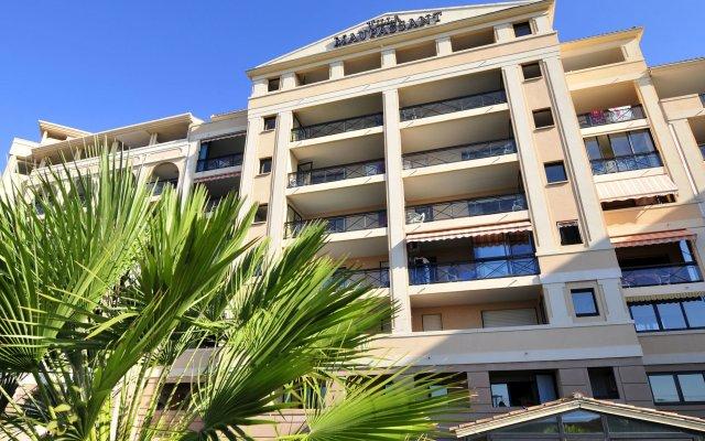 Отель Residhotel Villa Maupassant вид на фасад