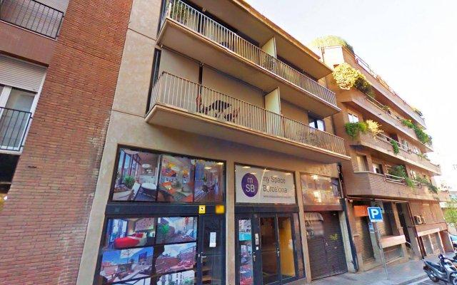 Отель My Space Barcelona Executive Apartments Center Испания, Барселона - отзывы, цены и фото номеров - забронировать отель My Space Barcelona Executive Apartments Center онлайн вид на фасад