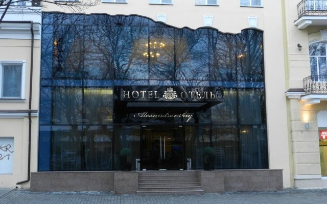 Гостиница Александровский вид на фасад