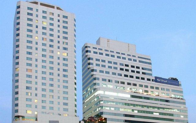 Отель Jasmine City Бангкок вид на фасад