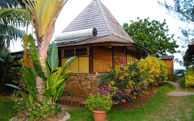 Отель Fare Tamanu Французская Полинезия, Папеэте - отзывы, цены и фото номеров - забронировать отель Fare Tamanu онлайн вид на фасад