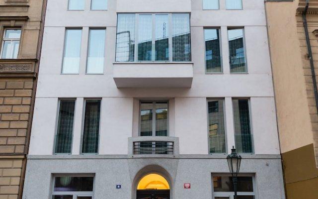 Отель EMPIRENT Aquarius Apartments Чехия, Прага - отзывы, цены и фото номеров - забронировать отель EMPIRENT Aquarius Apartments онлайн вид на фасад