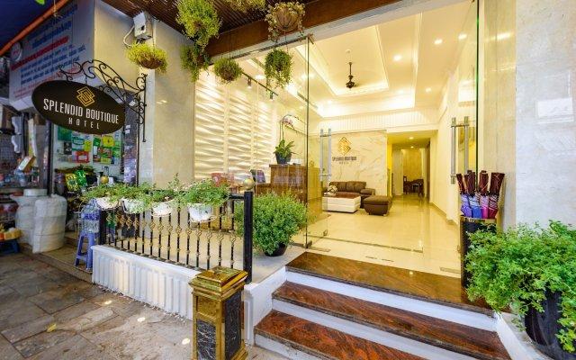 Отель Splendid Boutique Hotel Вьетнам, Ханой - 1 отзыв об отеле, цены и фото номеров - забронировать отель Splendid Boutique Hotel онлайн вид на фасад