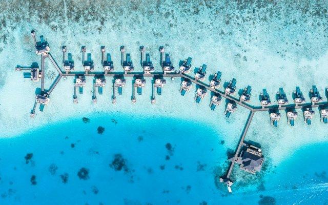 Отель Angsana Velavaru Мальдивы, Южный Ниланде Атолл - отзывы, цены и фото номеров - забронировать отель Angsana Velavaru онлайн Южный Ниланде Атолл  вид на фасад