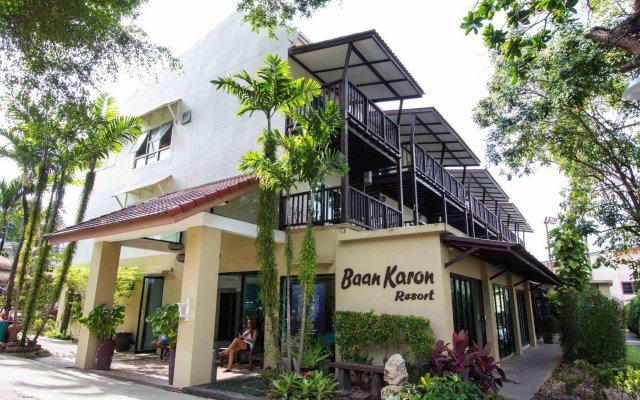 Отель Baan Karon Resort вид на фасад
