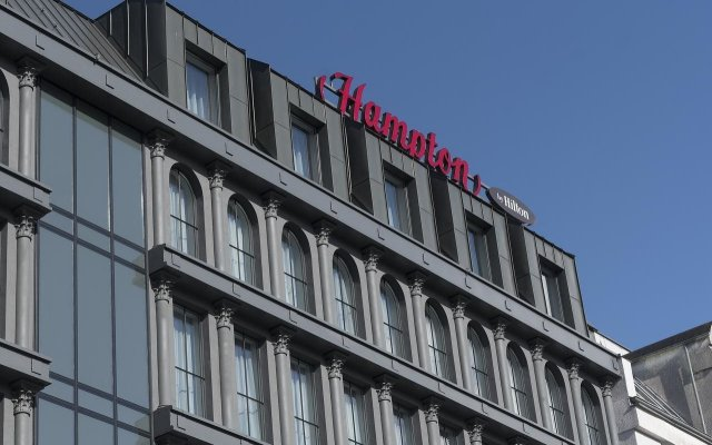 Отель Hampton by Hilton Poznan Old Town Польша, Познань - 2 отзыва об отеле, цены и фото номеров - забронировать отель Hampton by Hilton Poznan Old Town онлайн вид на фасад