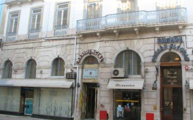 Отель Grande Pensao Residencial Alcobia Португалия, Лиссабон - - забронировать отель Grande Pensao Residencial Alcobia, цены и фото номеров вид на фасад