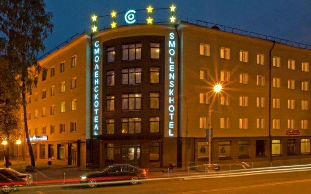 Гостиница СМОЛЕНСКОТЕЛЬ вид на фасад