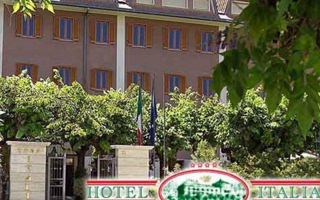 Italia Hotel Фьюджи вид на фасад