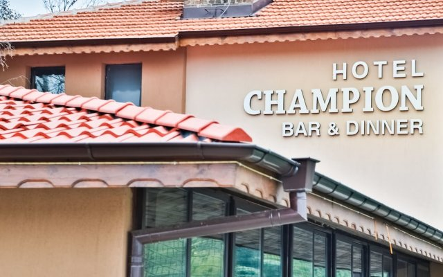 Hotel Champion Казанлак вид на фасад