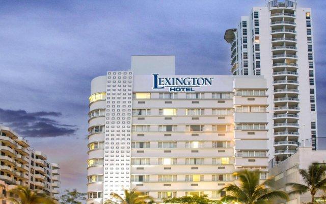 Lexington Hotel - Miami Beach вид на фасад