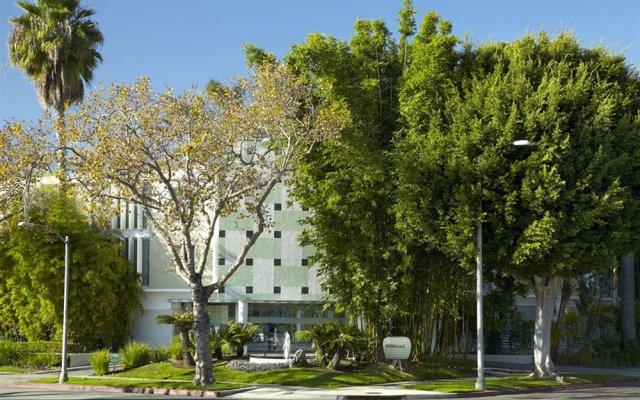 Отель Avalon Hotel Beverly Hills США, Беверли Хиллс - отзывы, цены и фото номеров - забронировать отель Avalon Hotel Beverly Hills онлайн вид на фасад
