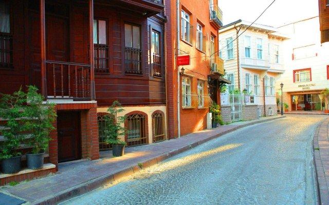 Апартаменты Emirhan Inn Apartment вид на фасад