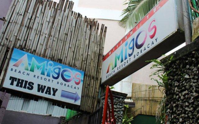 Отель Amigos Beach Resort Филиппины, остров Боракай - отзывы, цены и фото номеров - забронировать отель Amigos Beach Resort онлайн вид на фасад