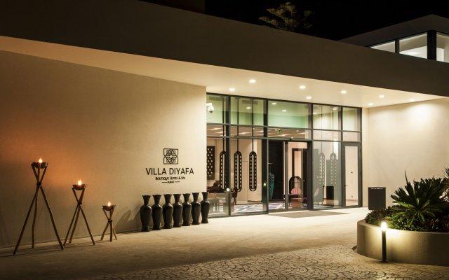 Отель Villa Diyafa Boutique Hôtel & Spa Марокко, Рабат - отзывы, цены и фото номеров - забронировать отель Villa Diyafa Boutique Hôtel & Spa онлайн вид на фасад