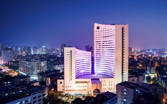 Отель Central Hotel Jingmin Китай, Сямынь - отзывы, цены и фото номеров - забронировать отель Central Hotel Jingmin онлайн вид на фасад