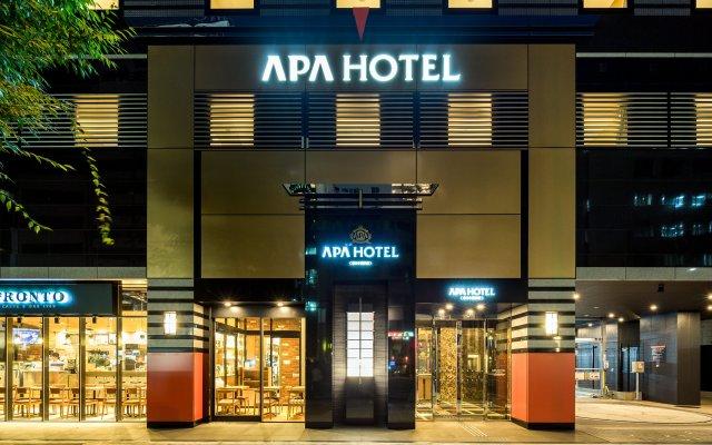 Отель APA Hotel Higashi-Nihombashi-Ekimae Япония, Токио - отзывы, цены и фото номеров - забронировать отель APA Hotel Higashi-Nihombashi-Ekimae онлайн вид на фасад