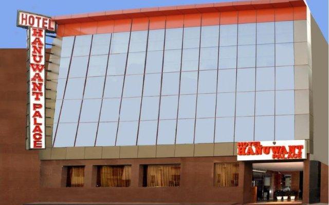 Отель Hanuwant Palace Индия, Нью-Дели - 1 отзыв об отеле, цены и фото номеров - забронировать отель Hanuwant Palace онлайн вид на фасад