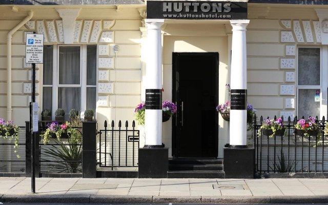 Huttons Hotel вид на фасад