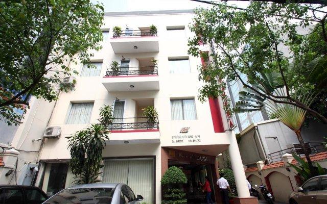 Hoang Ha Hotel вид на фасад