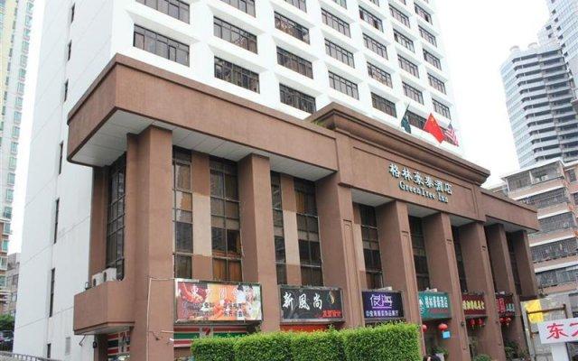 Отель Greentree Inn Dongmen Шэньчжэнь вид на фасад