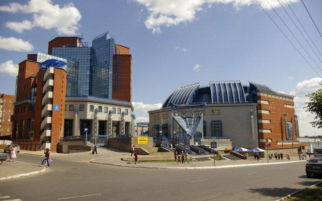 Отель Арена Ижевск вид на фасад
