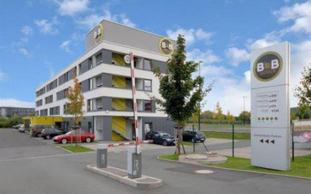 B&B Hotel Dusseldorf-Airport вид на фасад