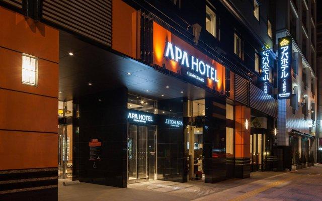 APA Hotel Ueno-Ekimae вид на фасад