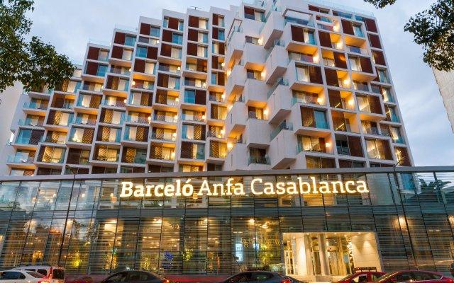 Отель Barcelo Anfa Casablanca вид на фасад