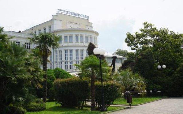 Гостиница Приморская вид на фасад