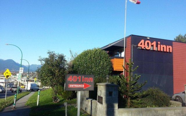 Отель 401 Inn Канада, Бурнаби - отзывы, цены и фото номеров - забронировать отель 401 Inn онлайн вид на фасад