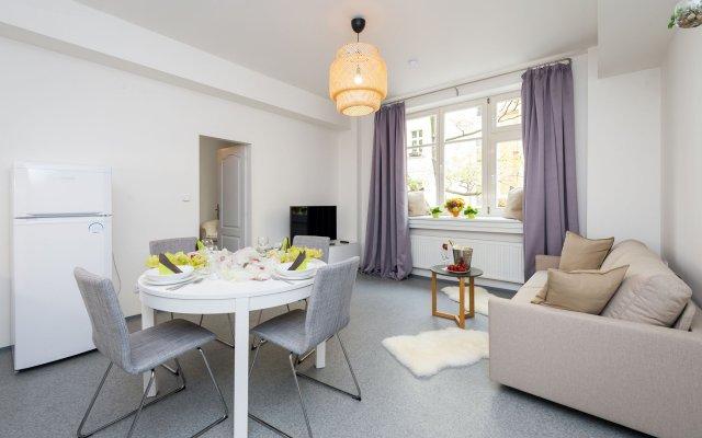 Апартаменты EMPIRENT Petrin Park Apartments Прага комната для гостей